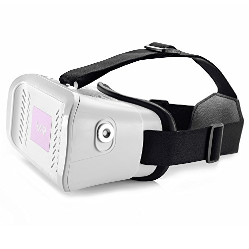 "Head-mounted Google Cardboard Version 3D VR Glasses Virtual Reality DIY 3D VR Video Movie Game Glasses with Headband for iPhone 6Plus 6 Samsung Note 4 / All 4.7 ~ 5.5"" Smart Phones"