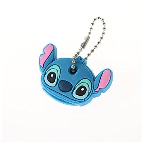 Voiture Style kawaii Cartoon Animal PVC porte-clés Key Caps Couvre clés Coque fantaisie de l'article