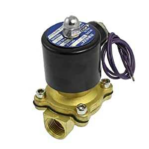 2W-160-15 1/2Two Way Air Water Oil Gas Solenoid Valve AC 24V
