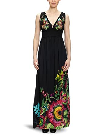 Desigual Damen Kleid (lang) 22V2232: Amazon.de: Bekleidung