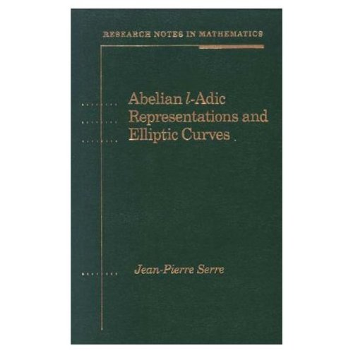 Abelian l-adic representations and elliptic curves