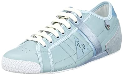 Le coq Sportif ESCRIME STRAP POWDER LOW WOMEN 9QQ 01040701.9QQ, Chaussures basses femme - Bleu-TR-A-4-276, 40 EU