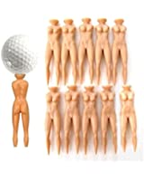 Demarkt 10pcs Naked Lady Nude Golf Tees