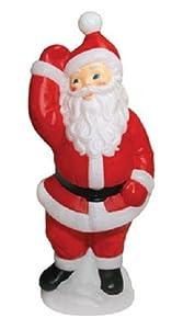 "General Foam Painted Blow Mold Santa 40"""