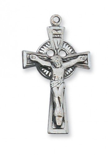 Men or Womens Religious Necklace, Catholic Antique