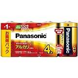 Panasonic 単1形アルカリ乾電池 4本パック LR20XJ/4SW