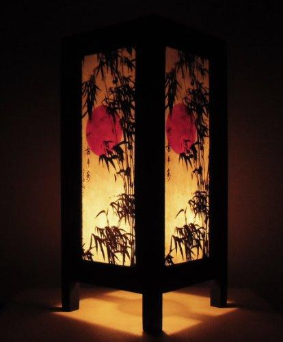 rare-asie-thai-lampe-de-tables-bouddha-style-chevet-coucher-de-soleil-bambou-japonais-par-thailande