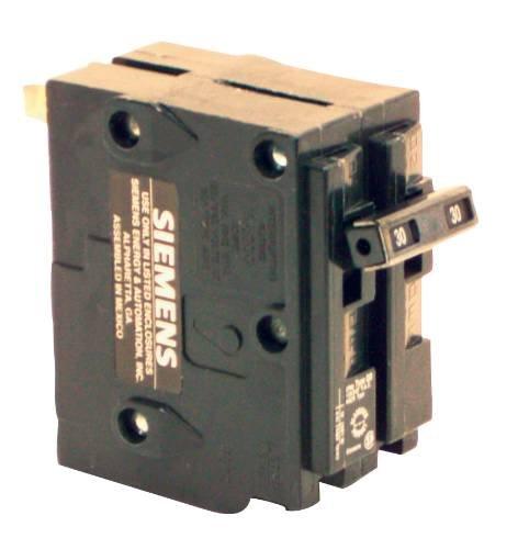 Siemens Bqd230 30-Amp Double Pole 480Y/277V Ac - 125/250V Dc 14Kaic Bolt In Breaker