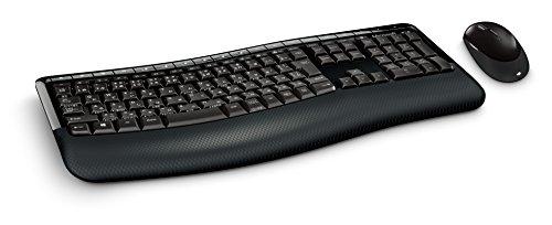 マイクロソフト [人間工学] ワイヤレス キーボード+マウス Wireless Comfort Desktop 5000 CSD-00028