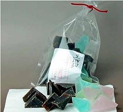 あっさり新食感寒天菓子【黒琥珀】 150グラム袋入り 上質和菓子専門店「長寿園」