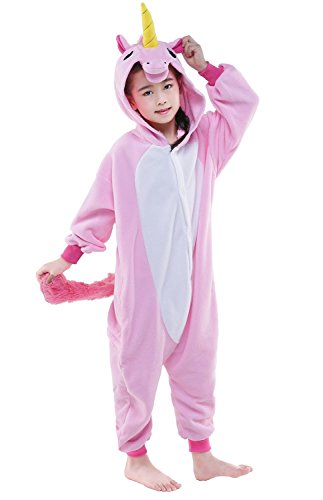 BELIFECOS-Childrens-Pink-Unicorn-Costumes-Animal-Onesies-Cosplay-Homewear-Pajamas