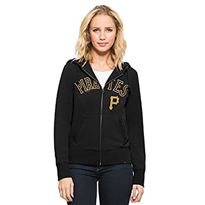 MLB Women's Shimmer Cross-Check Full-Zip Hood