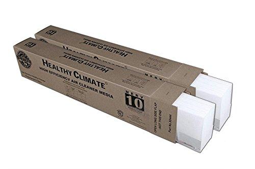 """Heating, Cooling & Air Lennox X0444 MERV10 Filter (2 Pack) 28"""" x 17"""" x 6"""""""