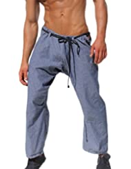 Rufskin Rede - Soft French Terry Capoeira/Loose Fit Yoga Pants - Navy