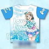 ラブライブ!サンシャイン!! (E)渡辺曜 フルグラフィックTシャツ