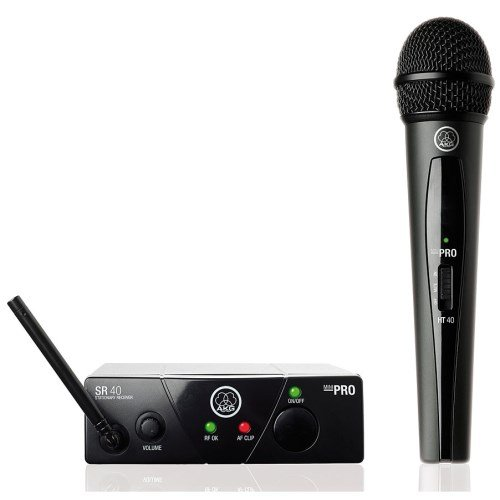 AKG WMS40 Mini Wireless Vocal Set ISM2 System