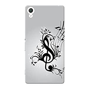 INKIF The Secret Quote Designer Case Printed Mobile Back Cover for Sony Xperia Z3 (Black)