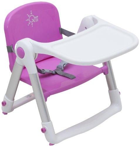 日本育児 スマートローチェア ピンク 約幅43 x 奥行48 x 高さ40cm 6390003001 1人で座れるようになってから~15kg対象 折りたたんで持ち運べる