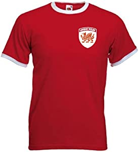 London Welsh Rugby Union Team Retro Style T-Shirt (Large)
