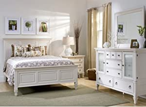 amazon com somerset alabaster 4pc queen bedroom set queen bedroom sets chicago il and in the roomplace