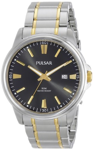 Pulsar Men'S Ps9109X Analog Display Japanese Quartz Two Tone Watch