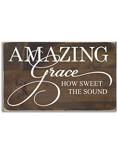 Sign - Amazing Grace How Sweet the Sound (Amazing Grace Picture compare prices)