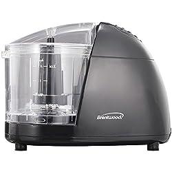 Brentwood Appliances MC-106 Food Chopper, Mini, Black
