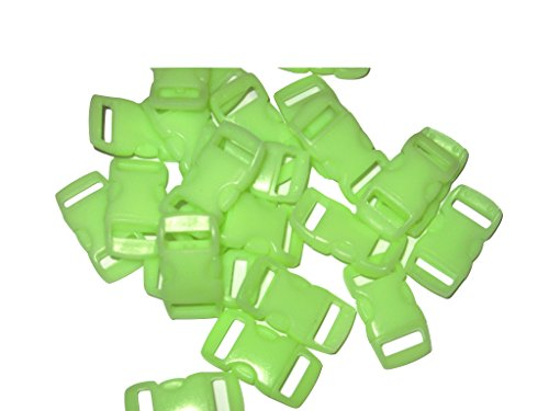 100-count-glow-in-the-dark-3-8-side-release-buckles-for-small-paracord-bracelets