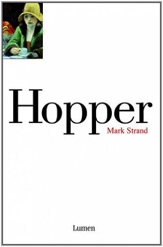 Resultado de imagen de hopper de mark strand