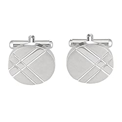 Park Avenue Silver Men's Cufflinks