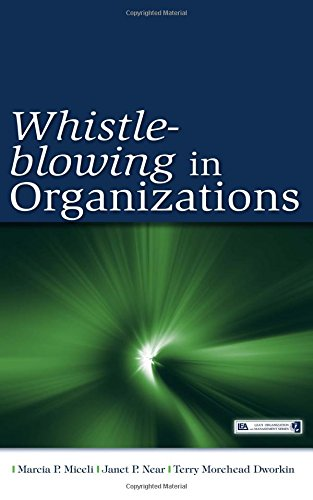 an analysis of whistle blowing and the issue of company loyalty Whistleblowing is a term which refers to the act of disclosure of malpractices or it is necessary that the whistleblower is an insider for the company, otherwise they might the definition also presupposes a conflict of loyalties - loyalty to the employer and the.