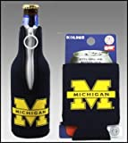 SET OF 2 MICHIGAN WOLVERINES CAN & BOTTLE KOOZIE COOLER at Amazon.com