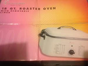 TOASTMASTER 18 QT. ROASTER OVEN with removable linen