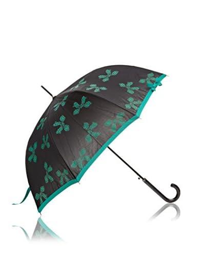 Dots Paraguas Lazos Verde