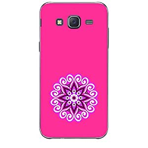 Skin4gadgets Artistically Drawn Mandala Tattoo In Pastel Colors -Pink, No.5 Phone Skin for SAMSUNG GALAXY J5
