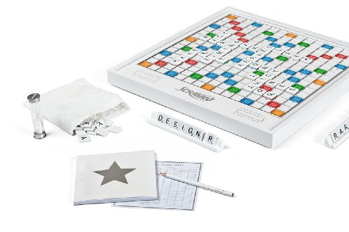Scrabble Pearl Edition with Rotating Board