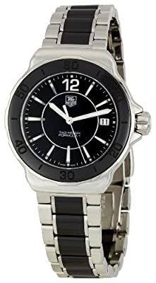 Tag Heuer Women's 'Formula 1' Black Dial Ceramic Quartz Watch WAH1210.BA0859