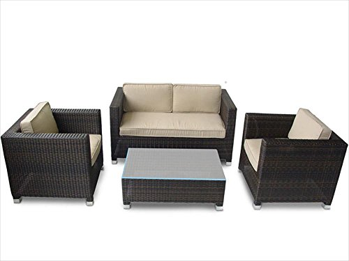 Kontiki Conversation Sets - Wicker Sofa Sets photo