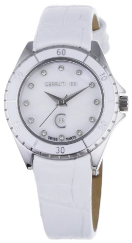 Cerruti Women's Quartz Watch CRM029N216B with Leather Strap