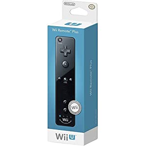 Nintendo Wii Remote Plus, Black