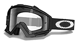 Oakley Proven MX Goggles - One size fits most/Matte Black w/Clear Lens