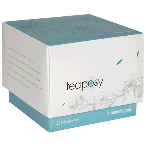 Buy Teaposy Blooming Tea Bulbs, Falling Water, 6-Count Boxes (Pack of 2) (Teaposy, Health & Personal Care, Products, Food & Snacks, Beverages, Tea, White Teas)