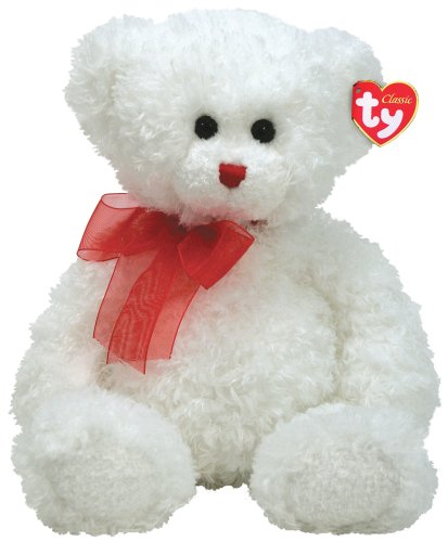 Hollibear - White Bear with Red Ribbon - Buy Hollibear - White Bear with Red Ribbon - Purchase Hollibear - White Bear with Red Ribbon (Ty, Toys & Games,Categories,Stuffed Animals & Toys,Animals)