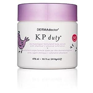 DERMAdoctor KP Duty Body Scrub With Chemical Plus Physical Exfoliation, 16 oz.