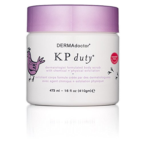 DERMAdoctor KP Duty Body Scrub with Chemical + Physical Exfoliation