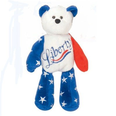 Limited Treasures - Liberty the Patriotic Bear