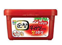 Sunchang Gochujang (Hot Pepper Paste) 1kg Level 3 Spicy (Medium Hot)