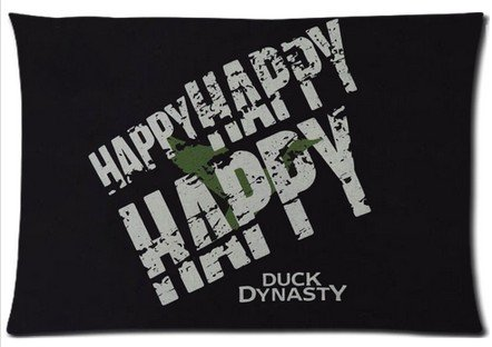 Duck Dynasty Zippered Pillow Cover