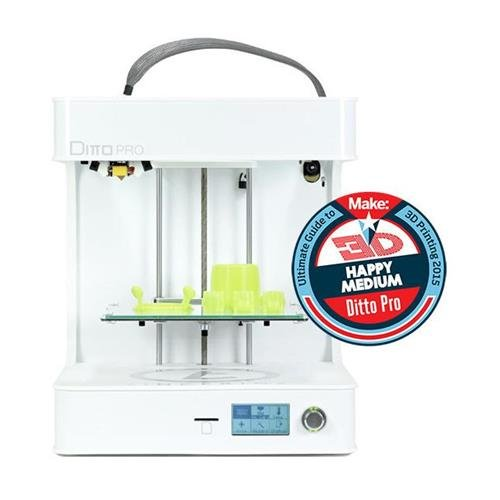 Tinkerine Ditto Pro 3D Printer, 50-300microns Layer Resolution