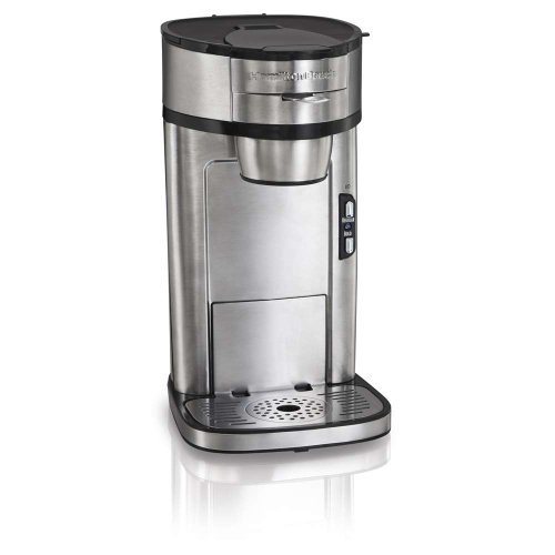 Single Serve Coffee Maker With Ground Coffee : Scoop Single Serving Coffeemakr Uses Regular Ground Coffee Best Coffee Maker Reviews